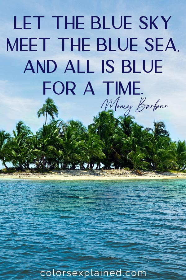 Quote about blue