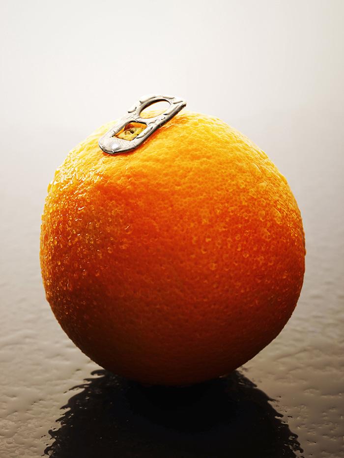 Orange enhances creativity