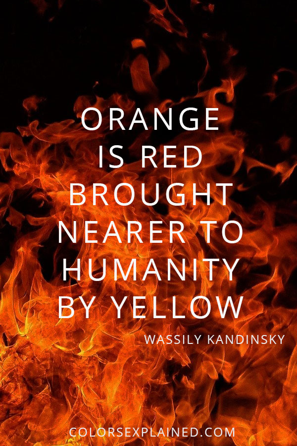 Quote about orange