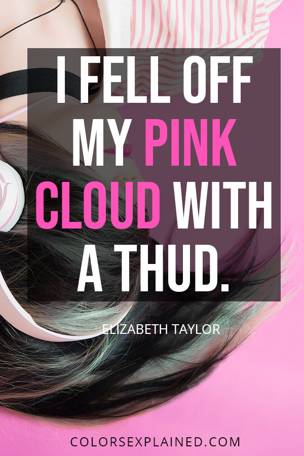 Quote about pink