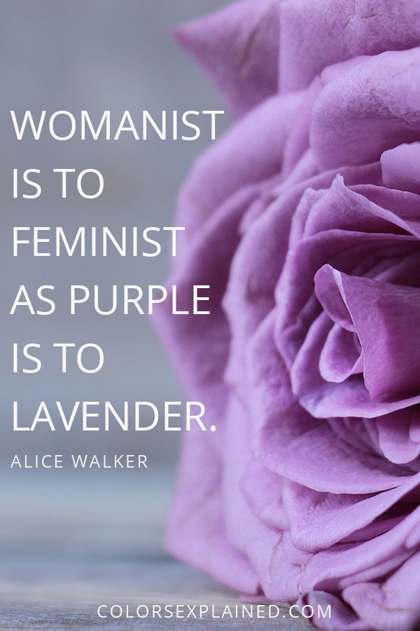 Quote about purple