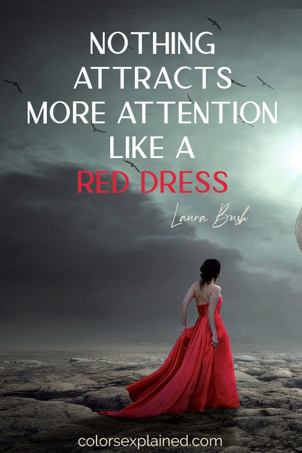 Quote about red