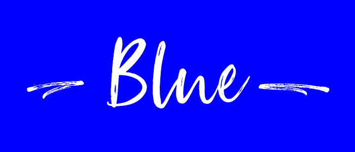 Blue subheader
