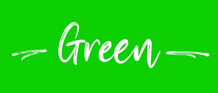 Green subheader
