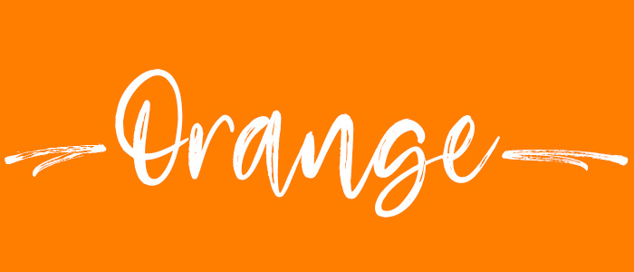 Orange subheader