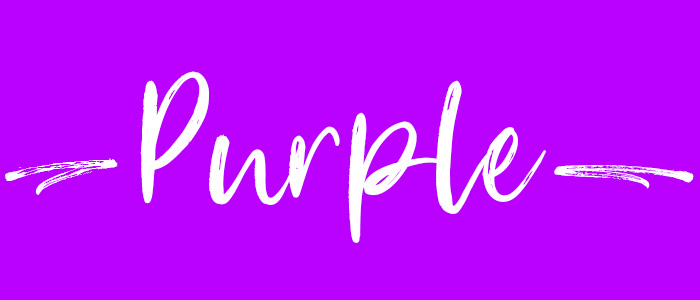 Purple subheader
