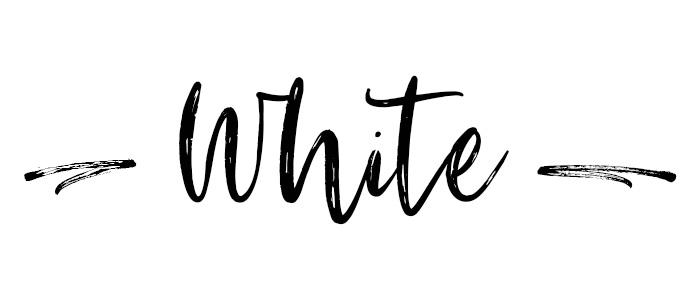 White subheader