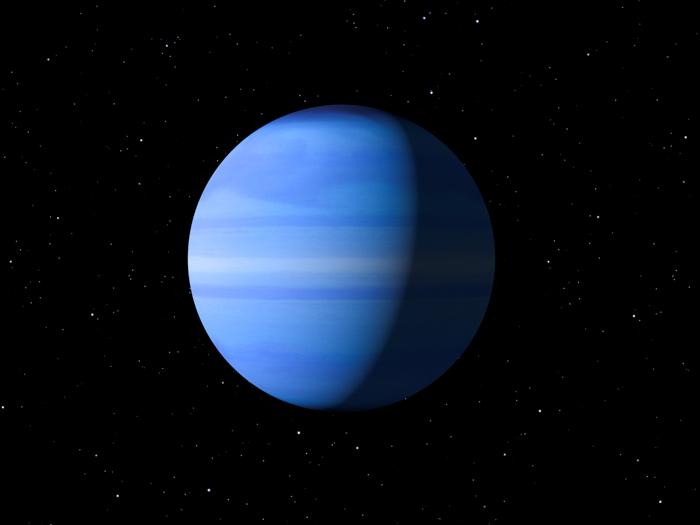 Blue Planet Uranus