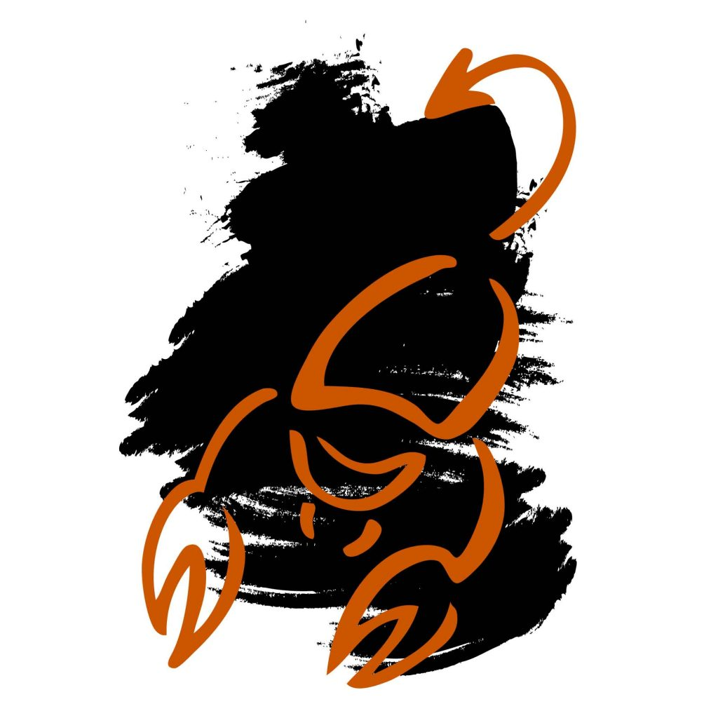 Scorpio color black sign