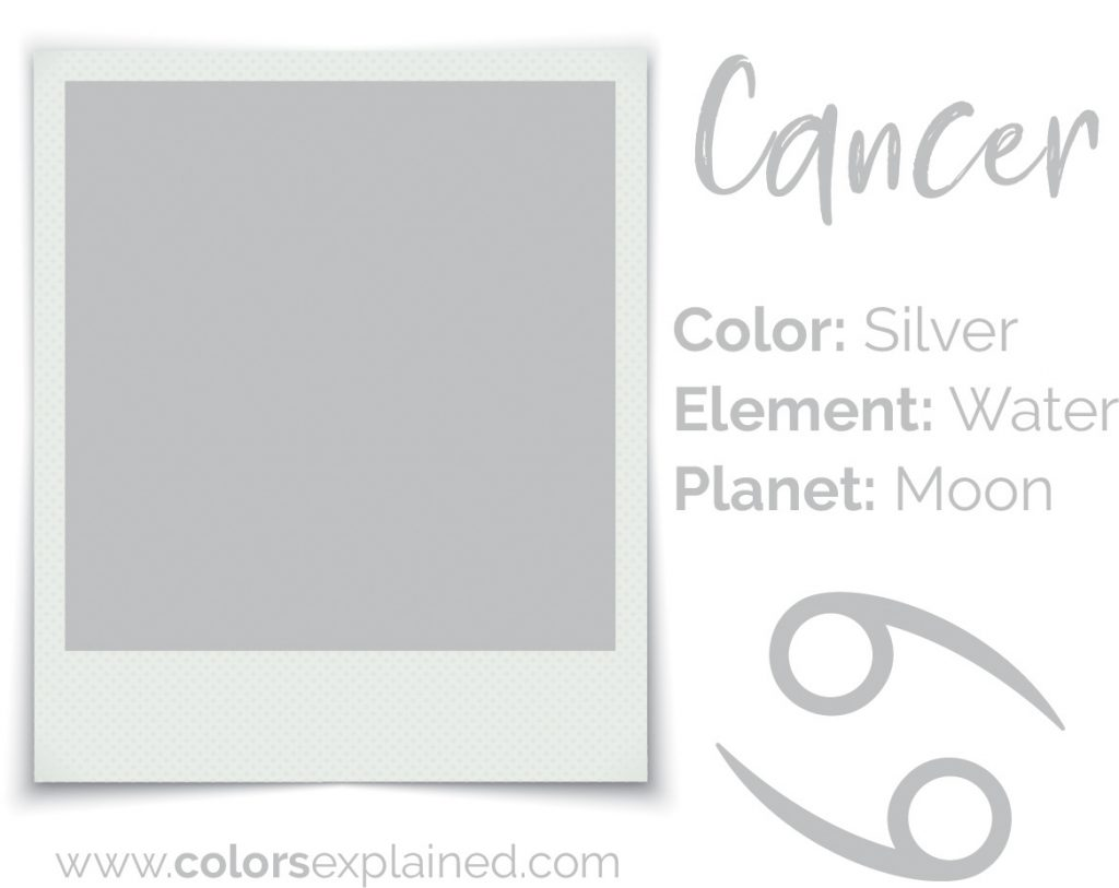Cancer color silver chart