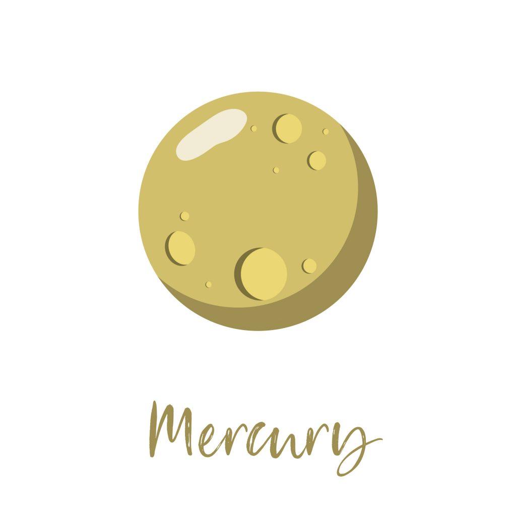 Mercury, the gray planet