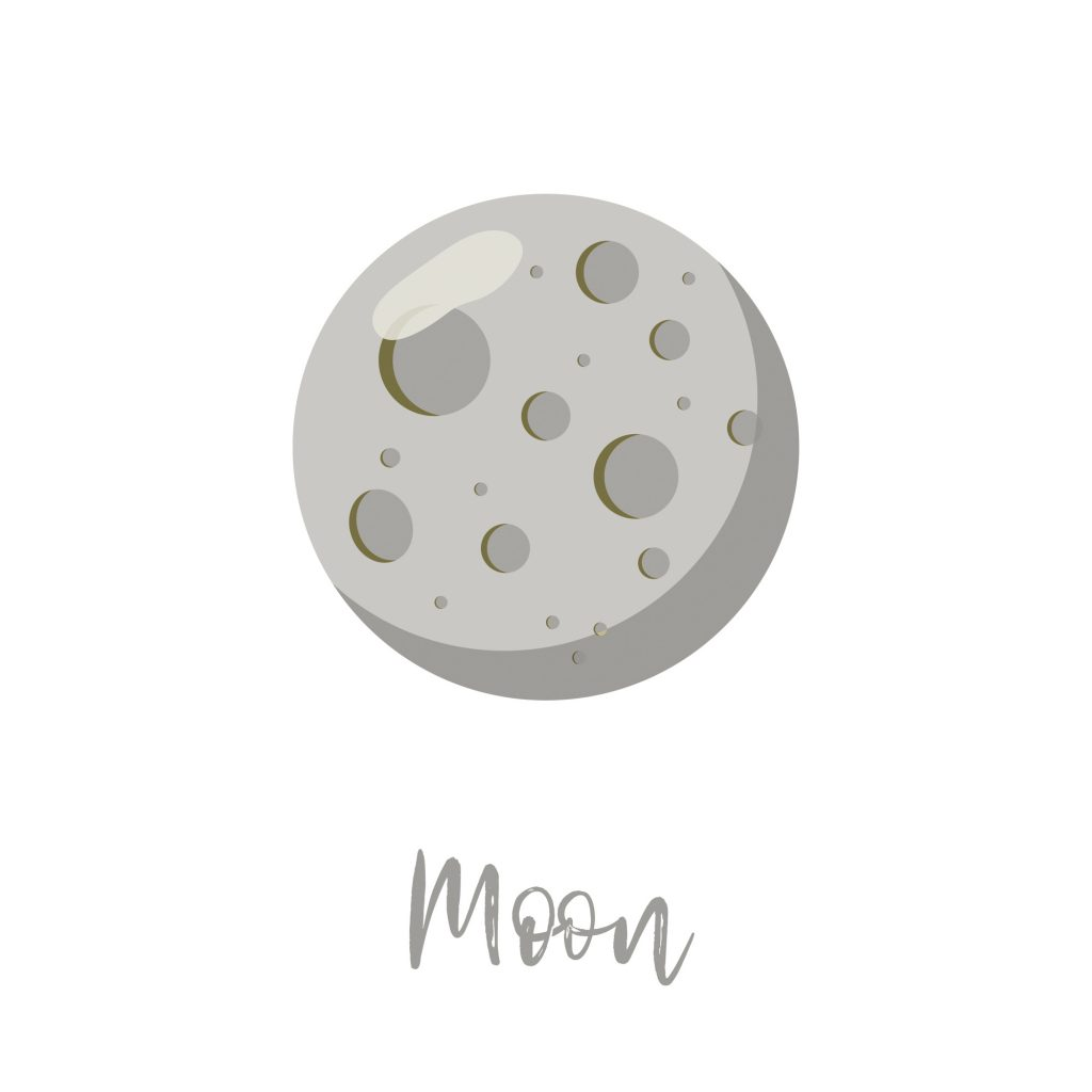 Moon, the gray planet