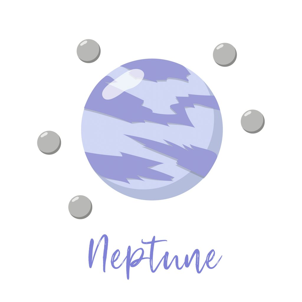 Neptune, the blue planet