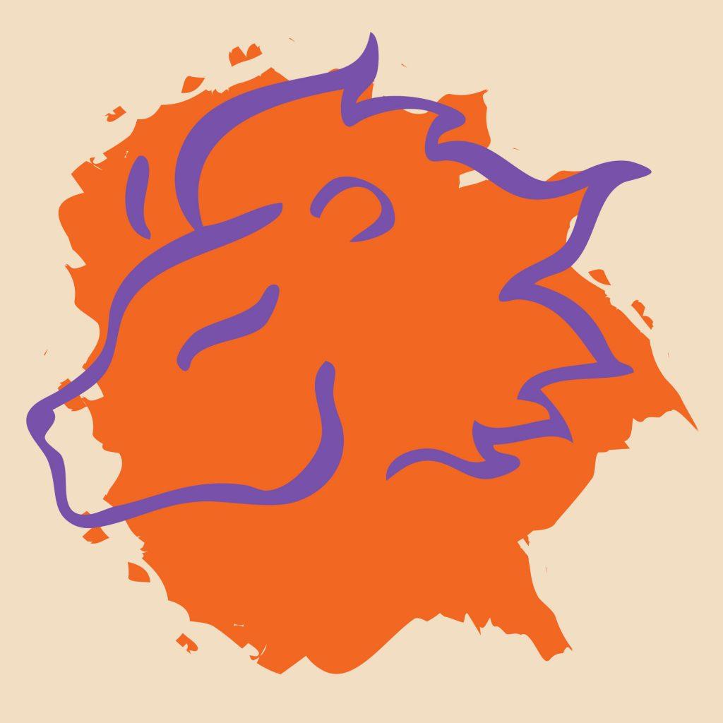 Leo color orange sign