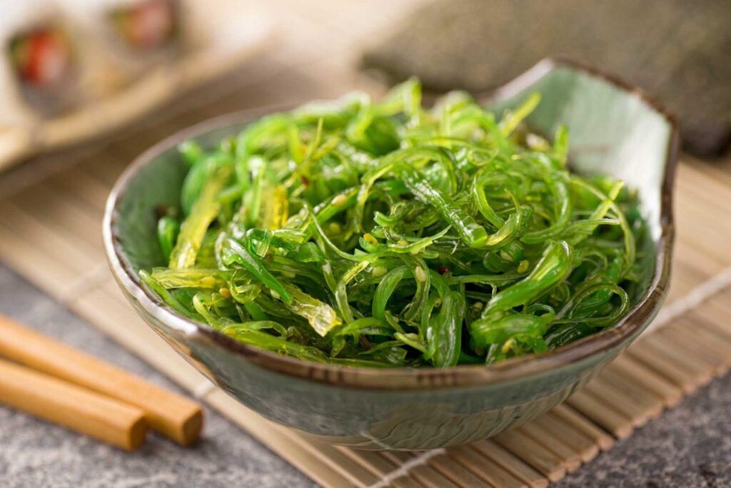 Green Seaweed Salad