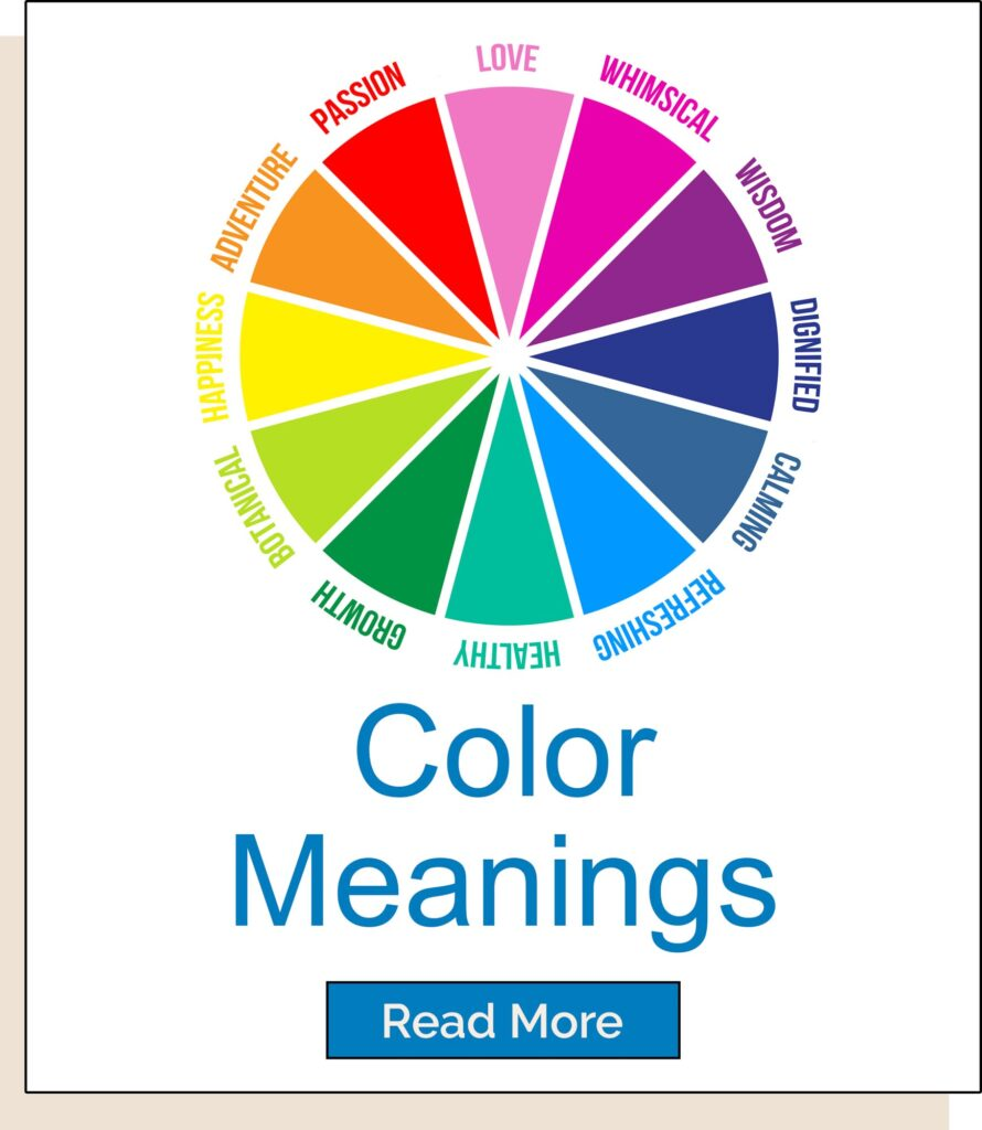 Color meanings homepage