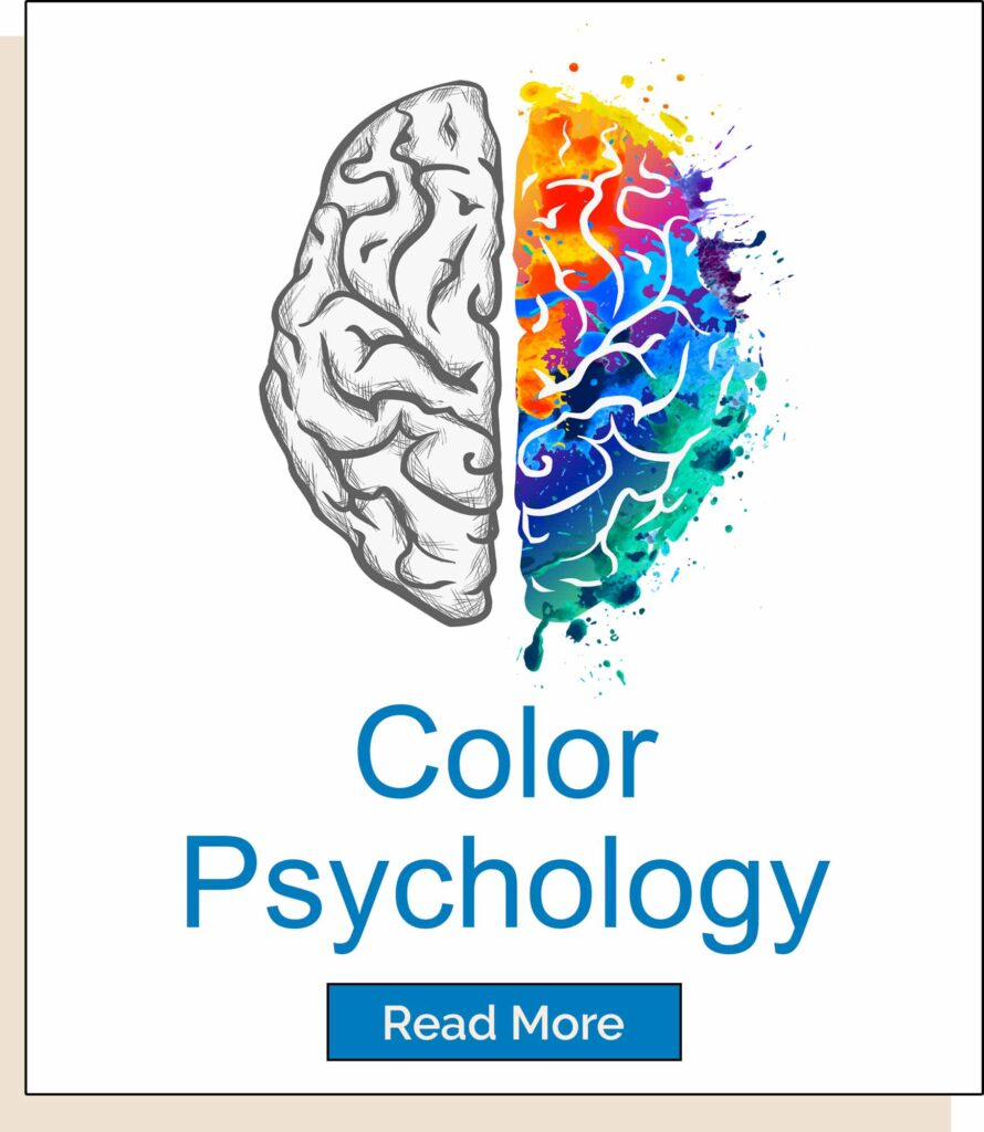 Color psychology homepage