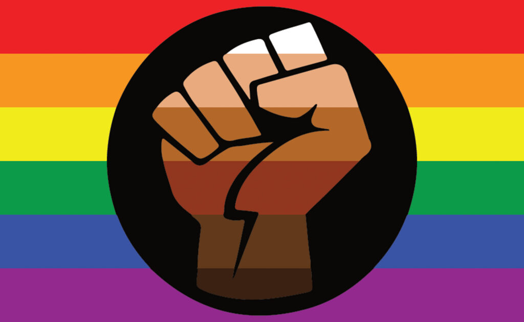 Queer people of color flag