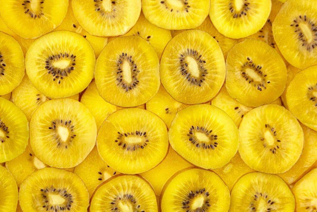 Yellow golden kiwi