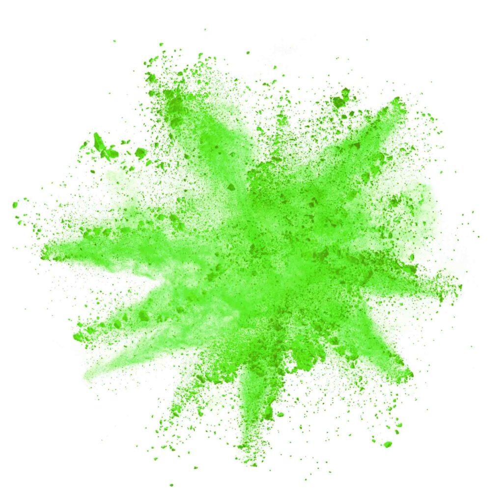Green powder