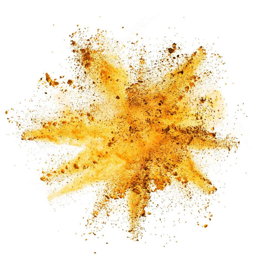 Yellow powder