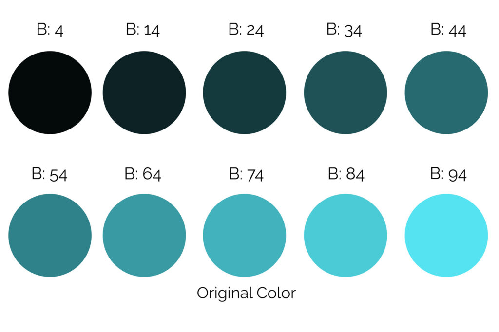How to create a monochromatic color scheme