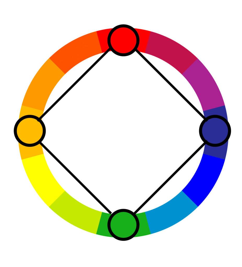 Square color harmony